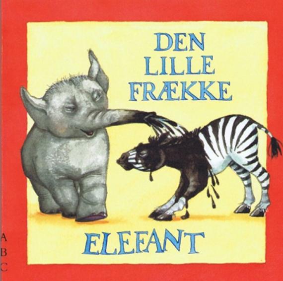 Pegebogen_Den lille frække elefant forside