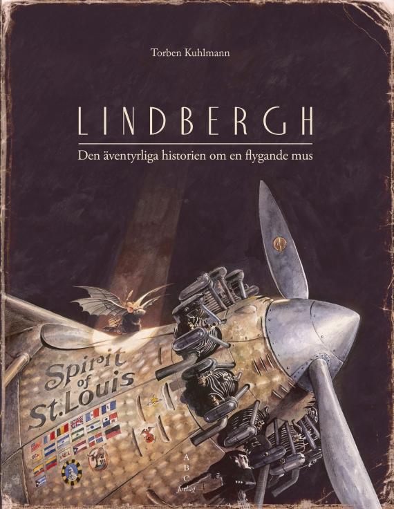 Flyets historie fortalt i billeder for børn – læs 'Lindbergh'