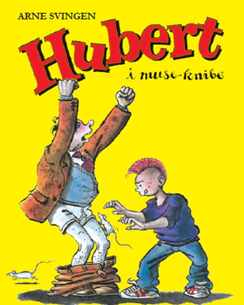 Hubert i museknibe_forside
