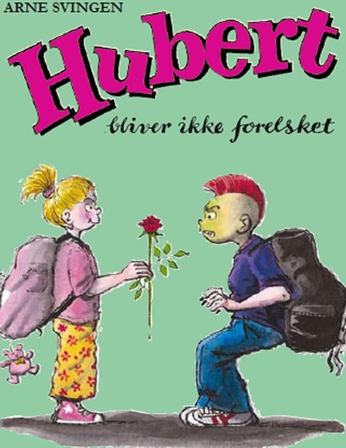 LÆS LET BØGER TIL BØRN Hubert bliver ikke forelsket – OMSLAG WEB