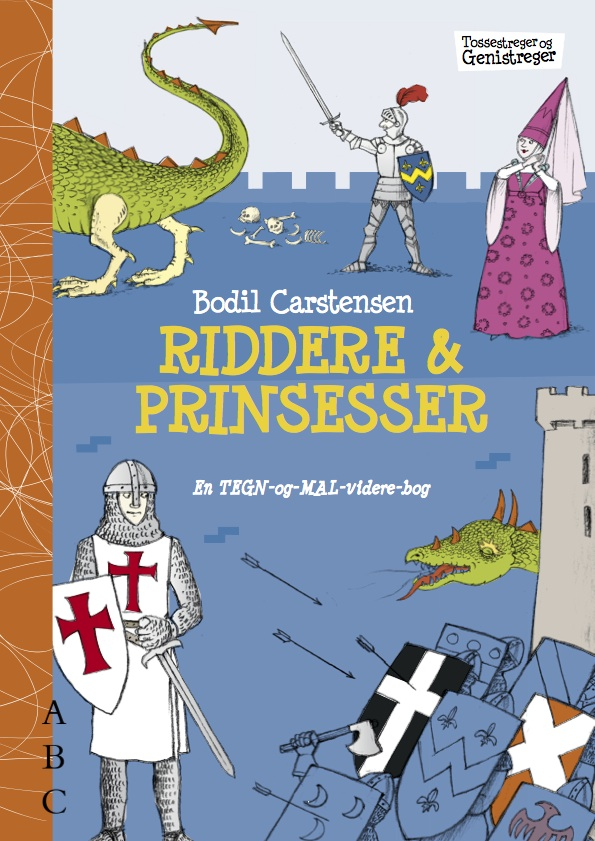 Malebog – Riddere og prinsesser