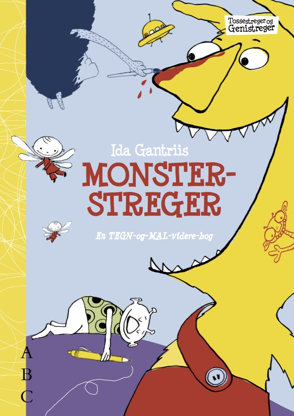 Monsterstreger – malebog
