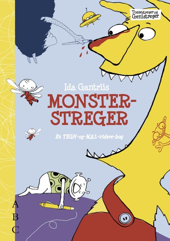 Monsterstreger – malebog
